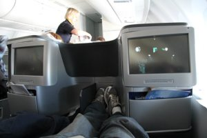 Business class seat - IFE