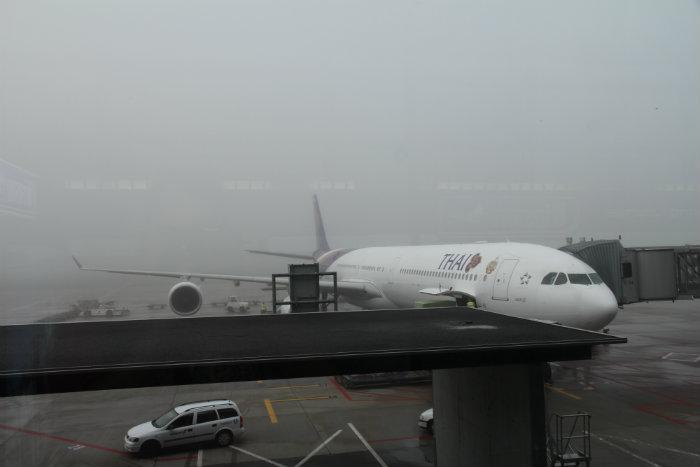 Flight review bangkok to zurich thai airways business class