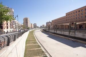 Dry Guadalmedina River
