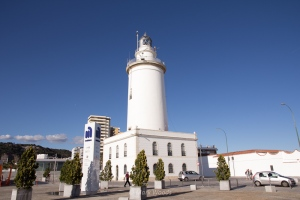 Navigation aid in the port