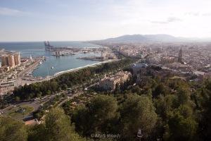 Views of Malaga