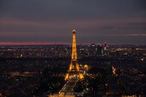 Views of Paris from Montparnasse