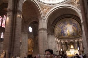 Photo inside Sacré-Cœur Basilica