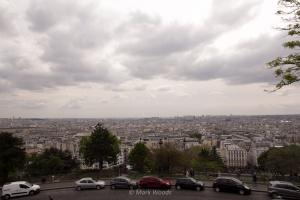 View of Paris from Sacré-Cœur Basilica
